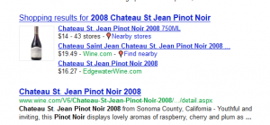 Google marketplace for wine