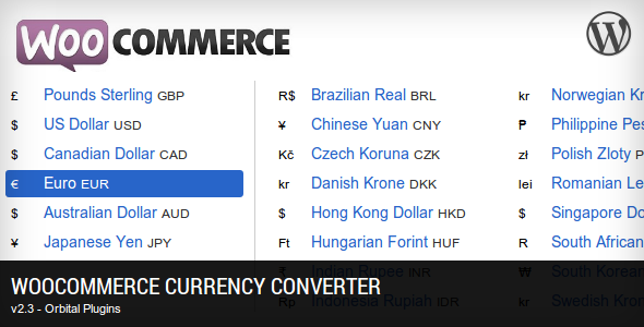 Currency Converter for Woocommerce