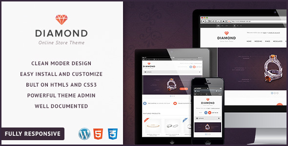 diamond-woocommerce-theme