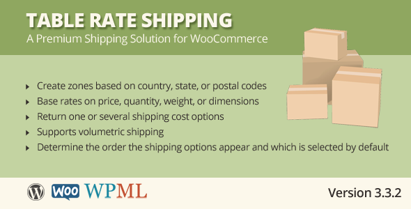 33 essential woocommerce plugins for Table rate shipping
