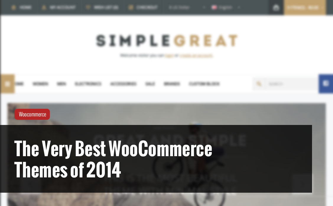 The Very Best Woocommerce Themes of 2014 - Mike Meisner