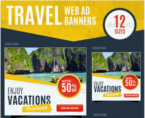 Creative Display Banner Templates for Remarketing Ads - Mike Meisner
